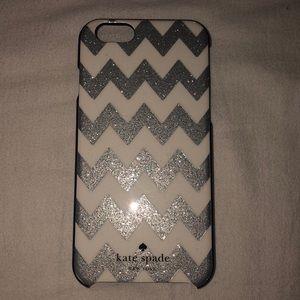 KATE SPADE Sparkly Phone Case